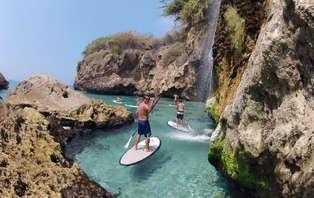 Deporte y salud con ruta paddle surf y spa talaso en Estepona