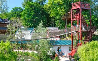 Weekendje weg met toegang tot dierenpark Pairi Daiza in Bergen