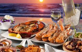 Romantisme avec plateau de fruits de mer en Cantabrie (à partir de 2 nuits)