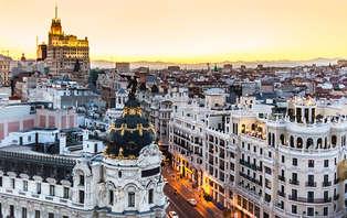 Escapada con  tour en el centro de Madrid