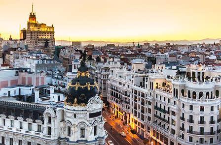 Weekendje weg met tour door Madrid