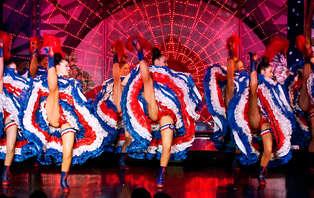 Week-end dans un hôtel design avec dîner-spectacle au Moulin Rouge
