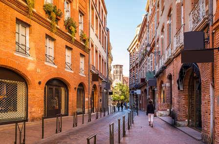 Escapade à vélo dans le centre historique de Toulouse