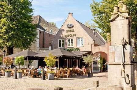 Week-end à vélo avec dîner à proximité de la frontière belge
