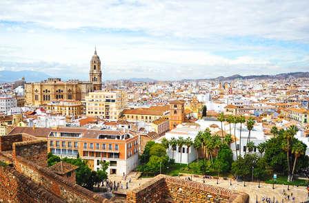 Escapada a Málaga cerca de la plaza Merced