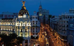 Escapada con tour a pie y cena en el centro de Madrid