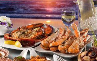 Escapada con cena y vistas al puerto de l' Ampolla