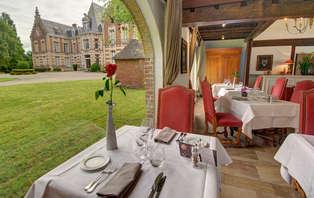 Week-end détente avec dîner gastronomique dans un magnifique château