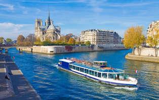 Croisière en Bateaux-Mouches et accès spa au coeur de Paris