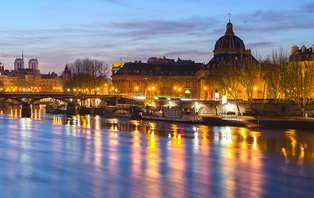 Week-end à Paris avec dîner-croisière sur la Seine