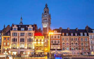 Week-end au coeur de Lille en chambre double