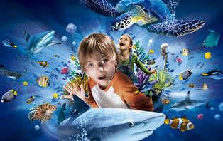 Week-end détente avec entrée à l'Aquarium Sea Life à Marne la Vallée