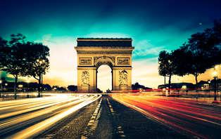 Week-end détente au coeur de Paris à deux pas de l'Arc de Triomphe