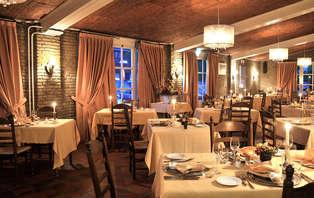 Dîner dans le célèbre restaurant De 7Bergsche Hoeve dans le Brabant