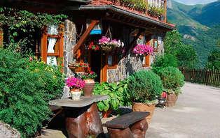 Escapada romántica con cena en los Picos de Europa