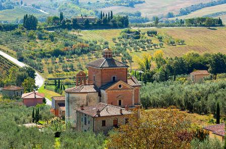 Accès spa, dégustation de vin et vue sur jardin dans un hôtel 4 étoiles en Toscane