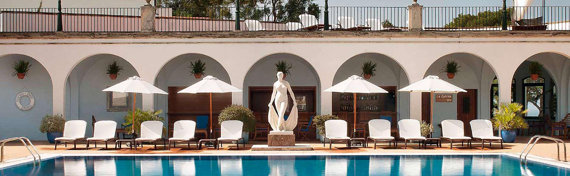 H tel hostal de la gavina h tel de charme s 39 agaro for Hotel la gavina