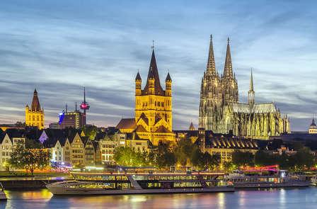 Romantisch weekend met diner in Keulen (vanaf 2 nachten)
