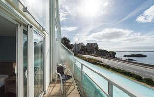 Escapade avec dîner dans un hôtel avec vue sur la mer à Concarneau