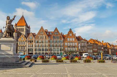 Scopri Tournai con un biglietto del treno per Lille