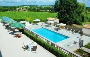 Week-end romantique avec dîner dans un château du vignoble Bordelais