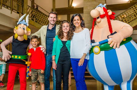 Weekend voor twee of met het hele gezin inclusief toegangskaartjes voor Parc Astérix (2 dagen/2 nachten)
