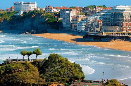 Week-end en chambre avec balcon et vue sur la mer, à Biarritz