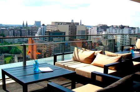 Spécial petit dej aux bulles: Shopping & vue panoramique à Anvers