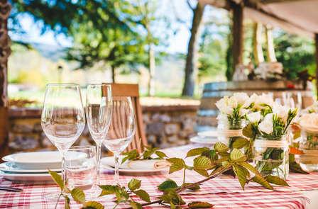 Gourmandise et détente dans la région du Chianti avec dîner et jacuzzi (à partir de 2 nuits)