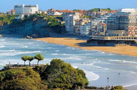 Week-end au bord de la mer, à Biarritz