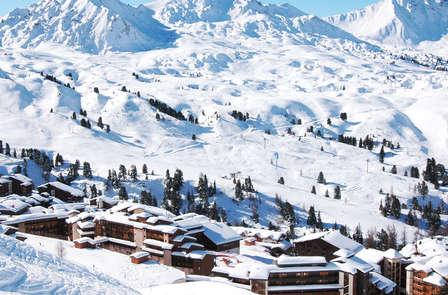 Week-end ski dans la station piétonne de la Plagne (2 nuits min. jusqu'à 4 pers.)