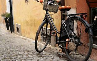 Promenade à Venise en vélo