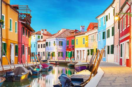 Una notte d'amore a Venezia con cena romantica