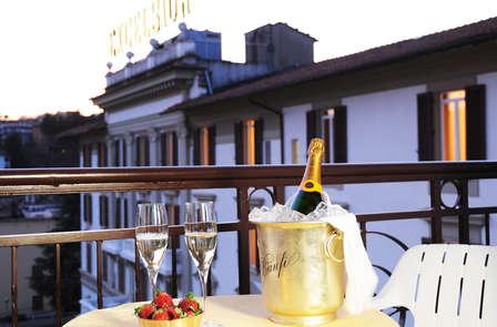Week-end toscan en Junior Suite avec bouteille de vin en chambre