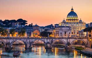 Une nuit magique à Rome avec dîner et départ tardif