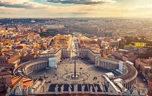 Romantisme sur les rives du Tibre à Rome (à partir de 2 nuits)