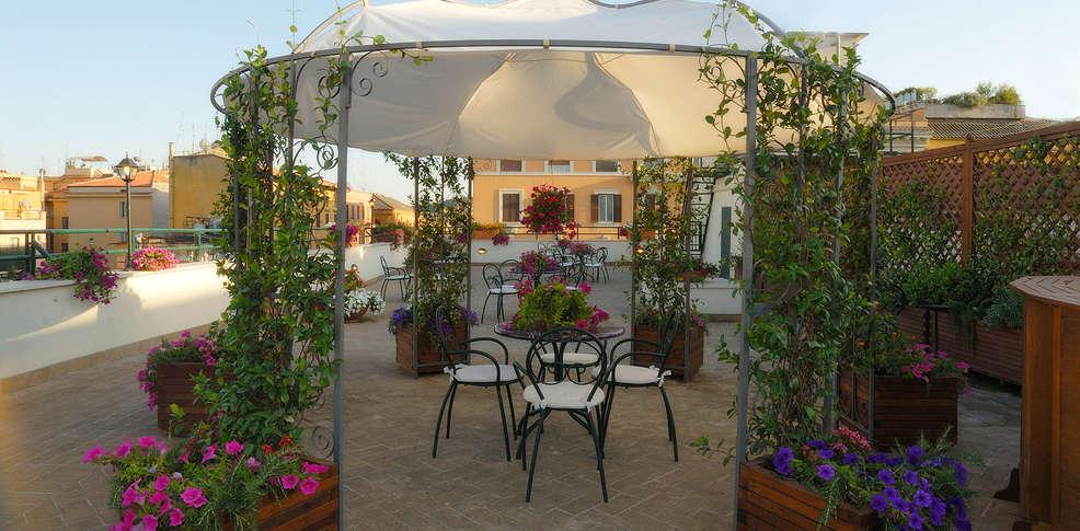 Hotel atlante garden h tel de charme rome - Hotel de charme rome ...