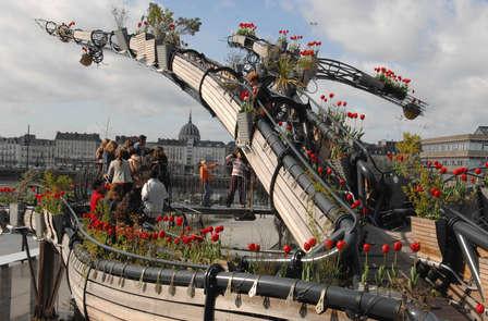 Week-end en famille à Nantes avec entrées aux machines de l'île, musées et croisière sur l'Erdre