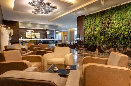 Alle porte di Milano in un hotel  d'avanguardia