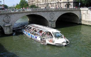 Speciale aanbieding: weekend met diner op een rondvaartboot op de Seine