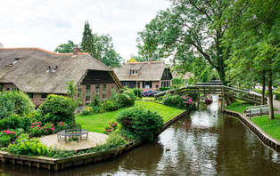 La Venise des Pays-Bas : à vélo ou en bateau (à partir de 2 nuits)
