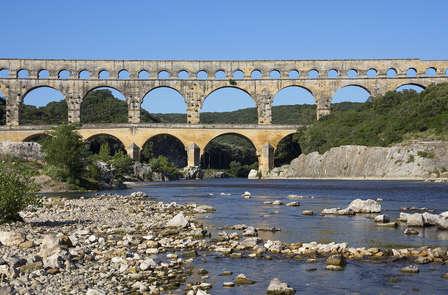 Week-end nature avec location de vélo  à proximité d'Avignon et du Pont du Gard