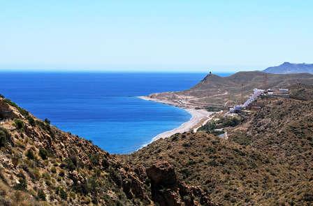 Vistas al mar en la joya natural del Cabo de Gata