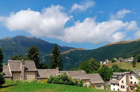 Mise au vert dans les montagnes lombardes