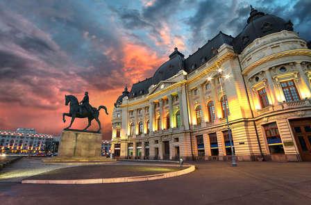 Un invito a cena romantico con la tua dolce metà a Bucarest (da 2 notti)