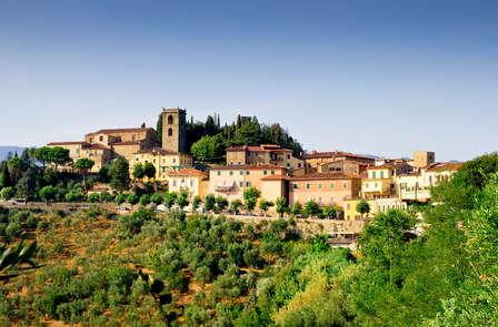 Dégustation de vin en Toscane