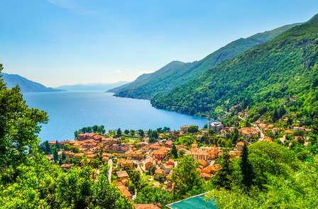 Notte d'amore al magico Lago Maggiore con cena