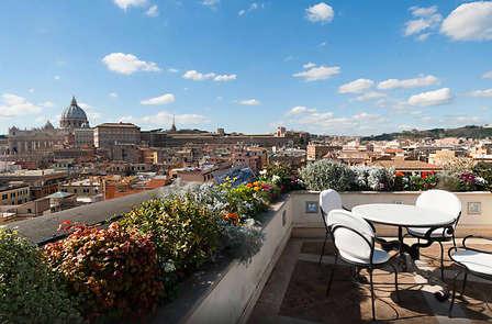 Romanticismo en el corazón de Roma (desde 2 noches)