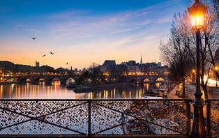 Week-end détente et romantique dans un hôtel de luxe au coeur de Paris