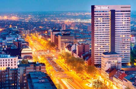 Luxe, détente et superbe vue à Bruxelles (à partir de 2 nuits)